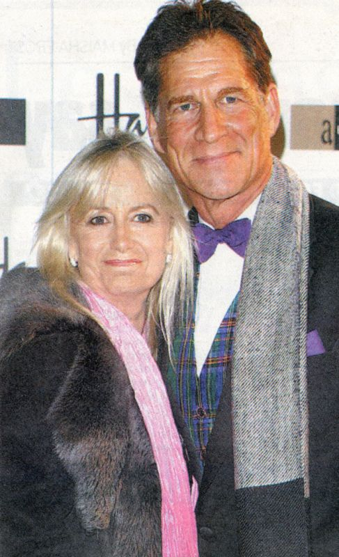 Simon MacCorkindale and Susan George