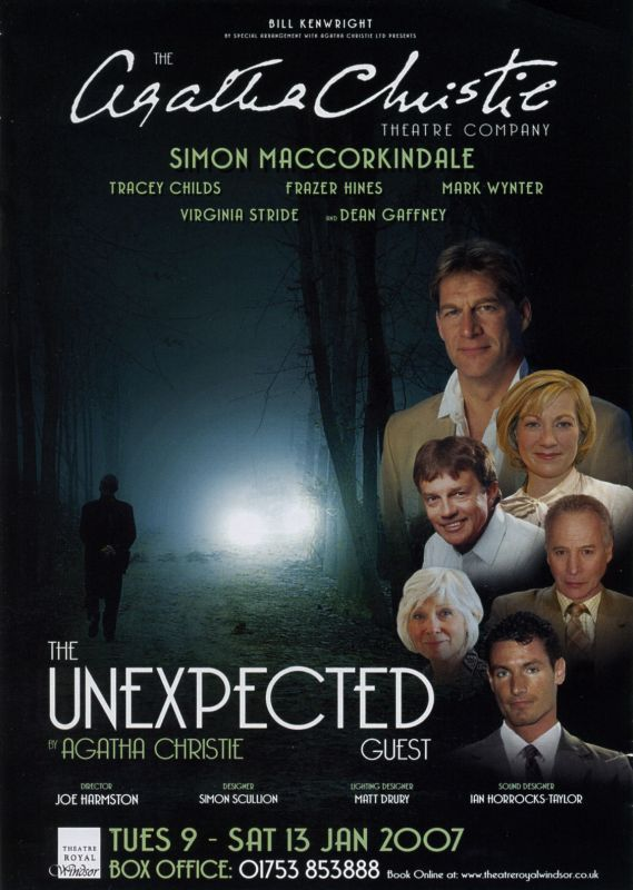 Simon MacCorkindale The Unexpected Guest